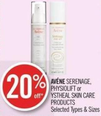 Avéne Serenage - or Skin Care Products