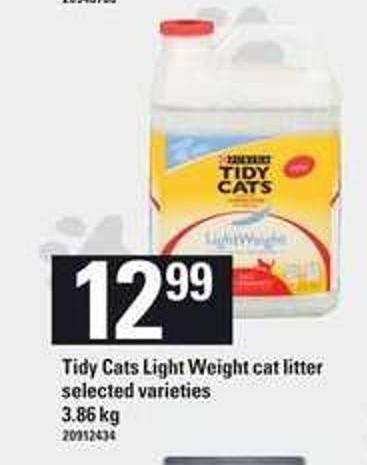 Tidy Cats Light Weight Cat Litter - 3.86 Kg