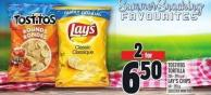 Tostitos Tortilla 205 - 295 G Or Lay's Chips 141 - 255 G