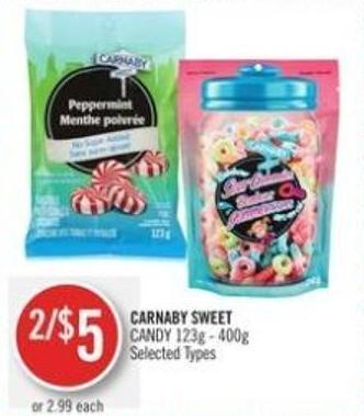 Carnaby Sweet Candy 123g - 400g