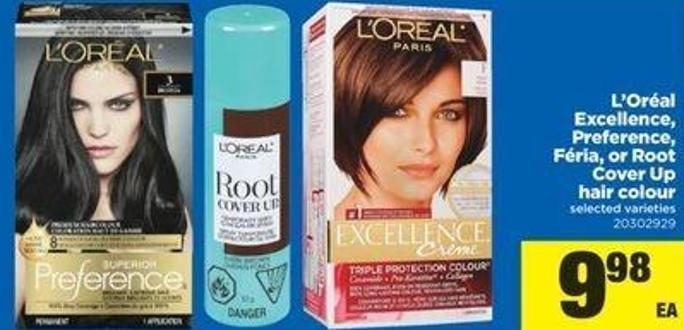 L'oréal Excellence - Preference - Féria Or Root Cover Up Hair Colour