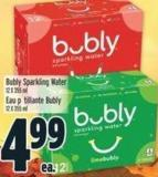 Bubly Sparkling Water 12 X 355 mL