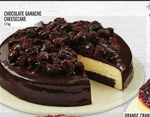 Chocolate Ganache Cheesecake