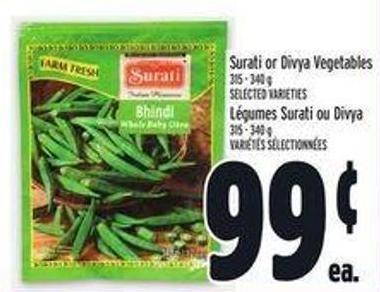 Surati Or Divya Vegetables