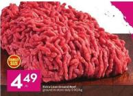 Extra Lean Ground Beef Ground In-store Daily 9.90/kg