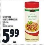 Selection Grated Parmesan Cheese
