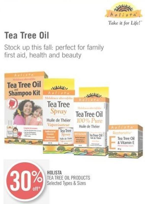 Holista Tea Tree Oil Products