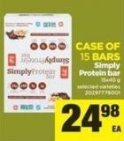 Simply Protein Bar - 15x40 g