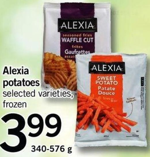 Alexia Potatoes - 340-576 G