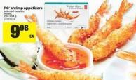 PC Shrimp Appetizers - 294-454 g