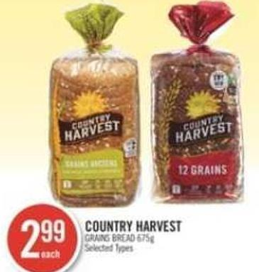 Country Harvest Grains Bread