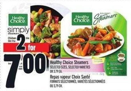 Healthy Choice Steamers