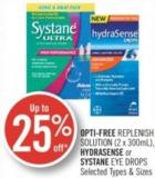 Opti-free Replenish Solution (2 X 300ml) - Hydrasense or Systane Eye Drops