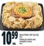 Nacho Platter With Taco Dip