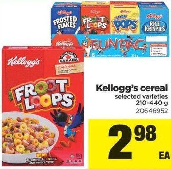 Kellogg's Cereal - 210-440