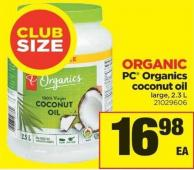 PC Organics Coconut Oil - 2.3 L