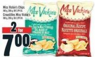 Miss Vickie's Chips 180 g - 200 g - Or 3.99 Ea.