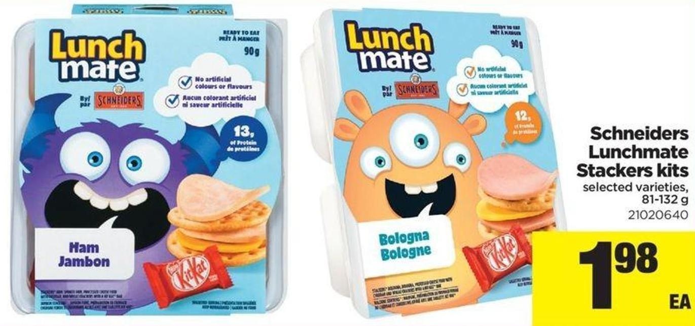 Schneiders Lunchmate Stackers Kits - 81-132 G