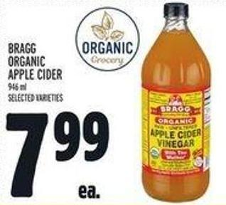 Bragg Organic Apple Cider