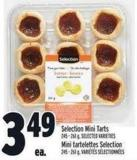 Selection Mini Tarts