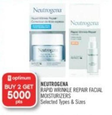 Neutrogena Rapid Wrinkle Repair Facial Moisturizers