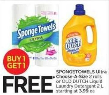 Spongetowels Ultra Choose-a-size