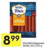 Piller's Pepperoni Sticks 300-500 g