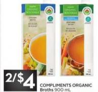 Compliments Organic Broths