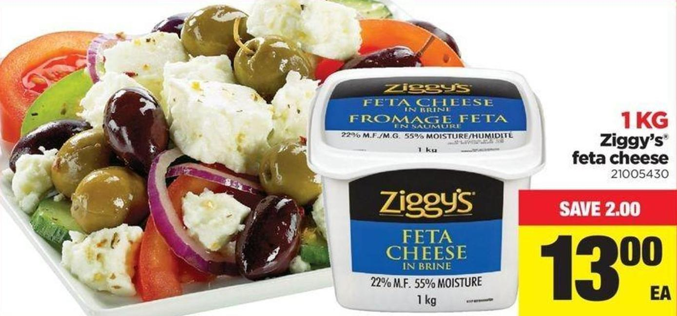 Ziggy's Feta Cheese
