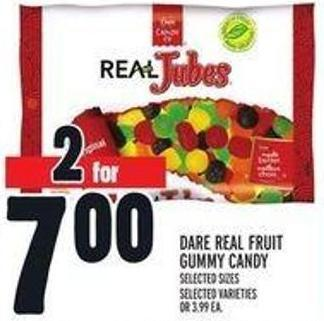 Dare Real Fruit Gummy Candy