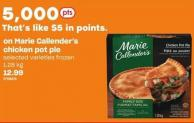 Marie Callender's Chicken Pot Pie - 1.28 Kg