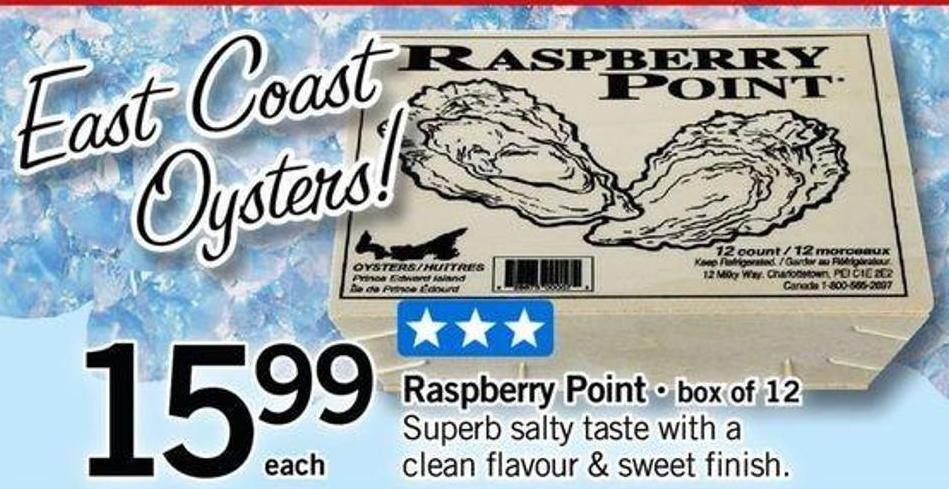 Raspberry Point Box Of 12