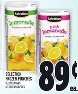 Selection Frozen Punches