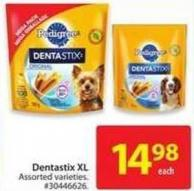 Pedigree Dentastix Xl