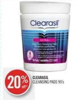 Clearasil Cleansing Pads 90's