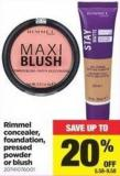 Rimmel Concealer - Foundation - Pressed Powder Or Blush