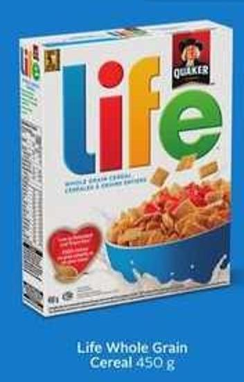 Life Whole Grain Cereal