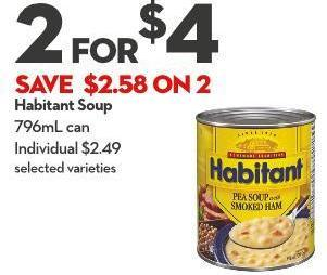 Habitant Soup 796ml Can