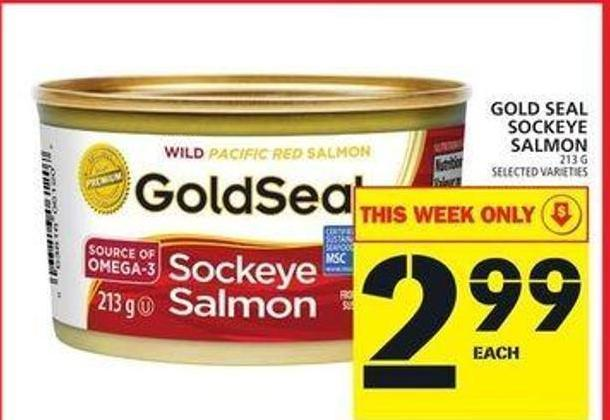 Gold Seal Sockeye Salmon
