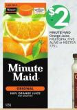 Minute Maid Orange Juice - Fruitopia - Five Alive or Nestea