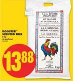 Rooster Scented Rice - 8 Kg
