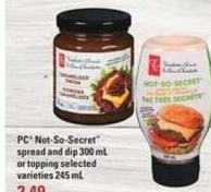 PC Not-so-secret Spread And Dip 300 Ml - 245 mL