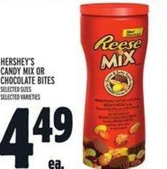 Hershey's Candy Mix Or Chocolate Bites