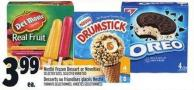 Nestlé Frozen Dessert Or Novelties