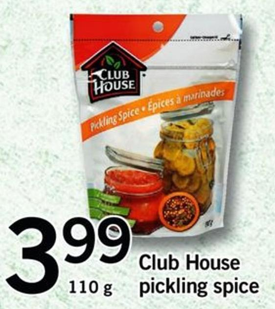 Club House Pickling Spice