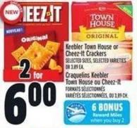 Keebler Town House Or Cheez-it Crackers