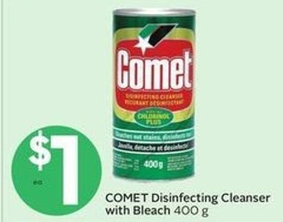 Comet Disinfecting Cleanser With Bleach
