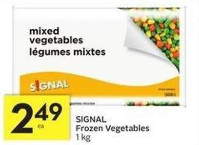 SIGNAL Frozen Vegetables