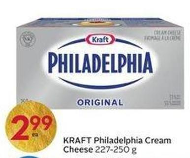 Kraft Philadelphia Cream Cheese 227 - 250 g