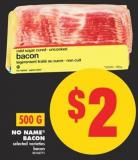 No Name Bacon - 500 g